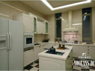 ,674平,10万,美式,别墅,厨房,白色,