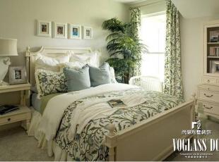 ,674平,10万,美式,别墅,卧室,白色,