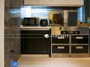 ,115.0平,19.0万,现代,两居,厨房,黑白,
