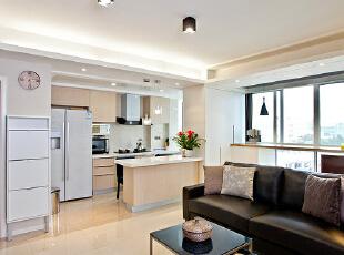 ,120平,24万,现代,三居,客厅,黑白,