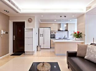 ,120平,24万,现代,三居,厨房,白色,