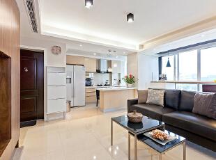 ,120平,24万,现代,三居,客厅,白色,