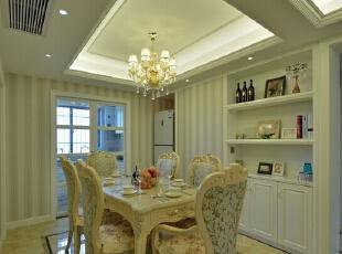 锦绣山河-欧式三居-锦绣山河114平三室两厅装修实景图案例
