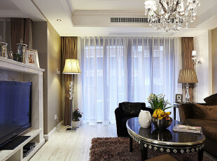 为您创造一个温馨环保健康的家庭环境,设计优雅壮观的风格 后期跟踪服务,让您在超凡装修无后顾之忧.,157平,13万,现代,三居,客厅,黑白,