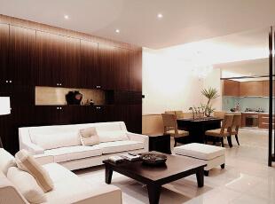 ,120平,6万,现代,三居,客厅,黑白,