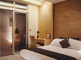,120平,6万,现代,三居,卧室,原木色,