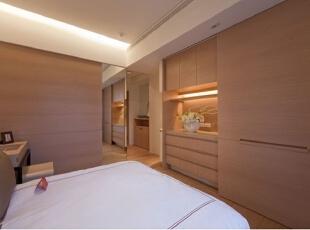 ,110.0平,7.0万,现代,三居,卧室,原木色,
