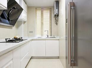 ,120平,7万,现代,三居,厨房,白色,