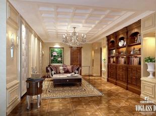 ,600平,90万,混搭,别墅,客厅,黄色,原木色,