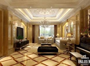 ,600平,90万,混搭,别墅,客厅,黄色,