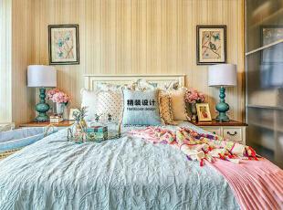 民安北郡89平方三室两厅英式风格装修效果图 卧室,89平,63万,小资,三居,卧室,原木色,