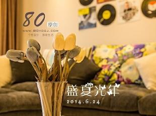 ,150平,7万,现代,三居,客厅,黑白,