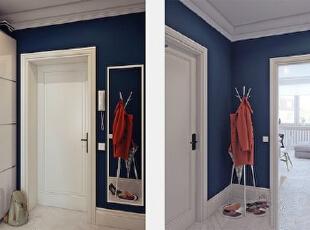 ,90平,9万,现代,两居,卧室,白色,蓝色,