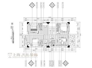 水映唐庄180平复式美式乡村二楼装修户型图,180平,20万,美式,复式,