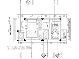 水映唐庄180平复式美式乡村一楼平面布局方案,180平,20万,美式,复式,