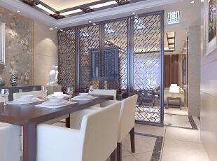,140平,10万,中式,三居,餐厅,原木色,