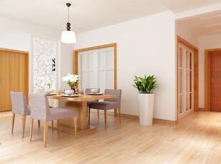 设计理念:就餐环境意在干净、简单,当色香味俱全的美味摆到桌上时就不仅仅是视觉上的享受了。 亮点:绿植的运用点缀了家也点缀了生活。花格木也同样采用藤蔓纹理,更亲近自然。,140平,8万,现代,三居,餐厅,白色,原木色,
