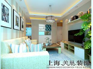 翰宇天悦装修案例3室2厅现代简约风格效果图---客厅和走道,客厅,玄关,白色,