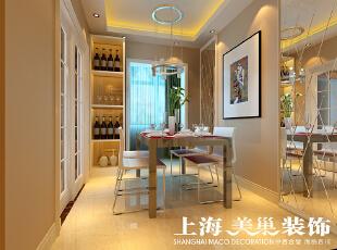 翰宇天悦装修3室2厅现代简约风格样板间效果图---餐厅,餐厅,黄色,
