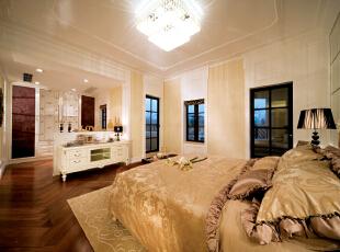 ,327平,40万,美式,别墅,卧室,白色,