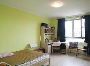 ,120平,15万,简约,两居,卧室,绿色,
