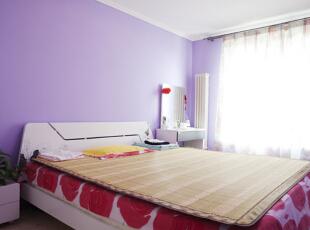 ,120平,15万,简约,两居,卧室,紫色,