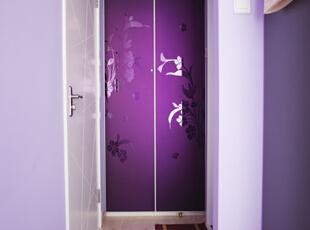 ,120平,15万,简约,两居,过道,紫色,