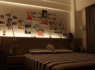 ,136平,17万,现代,两居,卧室,白色,