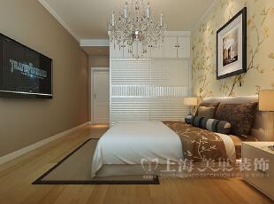 普罗旺世1号楼88平三室两厅现代简约风格装修效果图-卧室效果图,88平,7万,现代,三居,卧室,黄色,