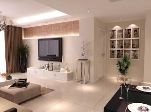 ,140平,30万,现代,四居,客厅,白色,