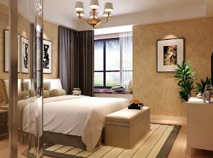 ,140.0平,30.0万,现代,四居,卧室,黄色,