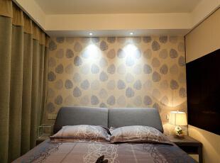 ,110平,7万,现代,三居,卧室,黄色,