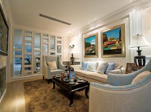 ,490平,126万,地中海,别墅,泰禾·北京院,客厅,白色,