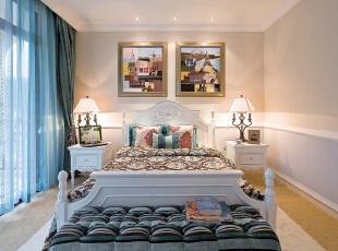 ,490平,126万,地中海,别墅,泰禾·北京院,卧室,白色,