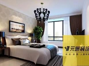 ,99平,0万,现代,两居,卧室,黑白,