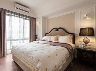 ,90平,12万,田园,两居,卧室,白色,