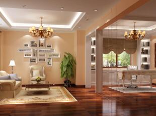 ,240平,15万,现代,别墅,客厅,白色,原木色,