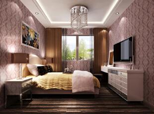 ,190平,7万,欧式,公寓,简约,美式,卧室,粉色,