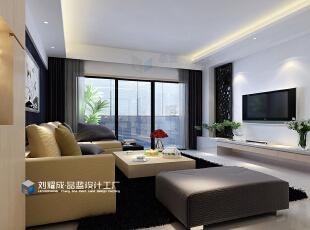 ,131平,12万,中式,四居,客厅,黑白,