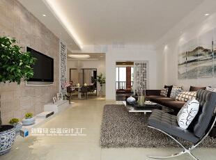 ,161平,12万,中式,四居,客厅,黑白,