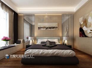 ,161平,12万,中式,四居,卧室,原木色,
