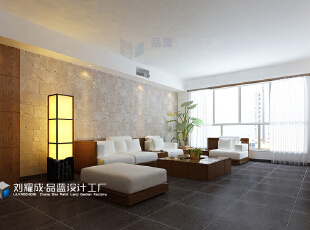 ,155平,15万,日式,四居,客厅,原木色,