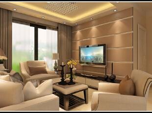 ,89平,60800万,现代,两居,客厅,白色,