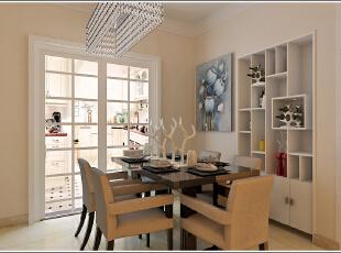 ,89平,60800万,现代,两居,餐厅,白色,