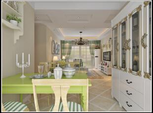 ,100平,66800万,现代,一居,餐厅,白色,绿色,