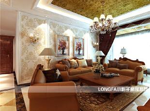 ,150平,10万,欧式,三居,客厅,黑白,黄色,红色,