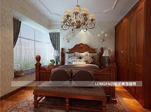 ,150平,10万,欧式,三居,卧室,红色,白色,