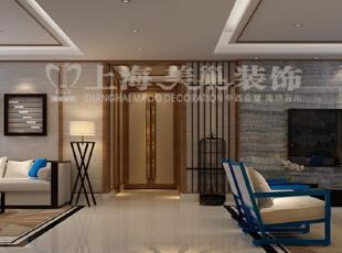 银基王朝220平新中式装修方案——客餐厅装修效果图,220平,20万,中式,大户型,餐厅,黑白,