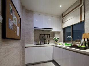 ,130平,5万,现代,三居,厨房,白色,