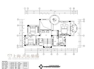 林溪湾480平别墅新古典二层装修平面布局图,480平,35万,新古典,别墅,